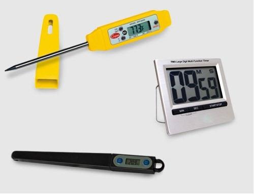 Thermometer & Timer
