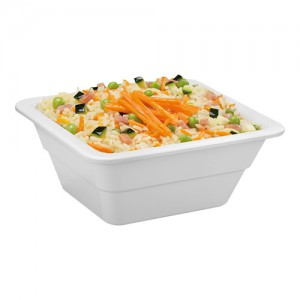 Gastronorm melamine wit 1/6 GN