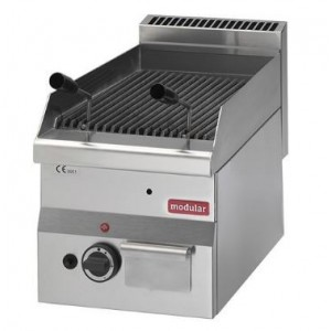 Lavasteengrill modular 600 compact propaangas