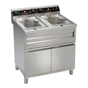 Caterchef elektrische friteuse 12 + 12L