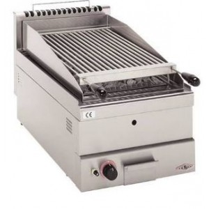 Stilfer Type II lavasteengrill op gas