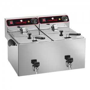 CaterChef elektrische friteuse 9 + 9L