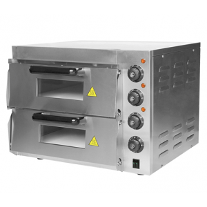 Caterchef pizza oven met 2 kamers