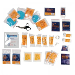Aero BS8599 premium first aid kit refill catering small