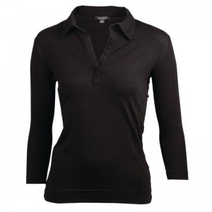 Uniform Works dames shirt zwart XS