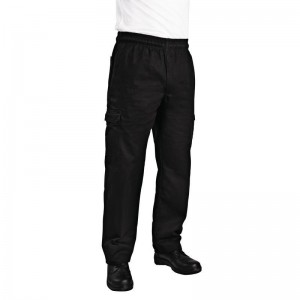 Chef Works slim fit cargo broek XS