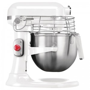 KitchenAid professionele mixer 6,9ltr wit