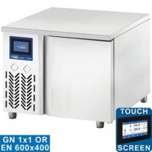 Diamond gastro line plus snelkoelcel, 3x GN1/1 (of) 600x400 (10-6 Kg) touch screen