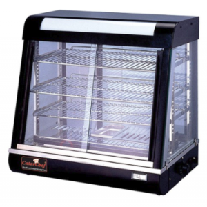 CaterChef warmhoudvitrine - 690x440x660 mm (bxdxh)
