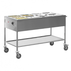 Caterchef bain marie wagen GN4/1x1-200mm