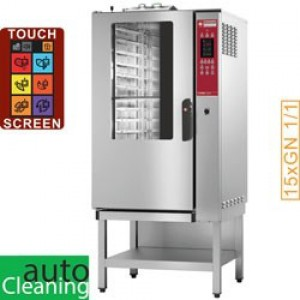 Diamond combi line elektrische stoom/convectieoven, 15x GN 1/1 - AUTO-CLEANING - TOUCH SCREEN