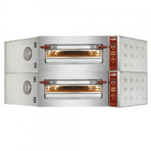 Diamond elektrische hoek pizza oven, 8+8x Ø 350 mm pizza
