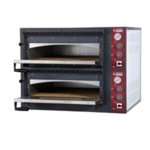 Diamond elektrische oven, 6+6x Ø 330 mm pizza