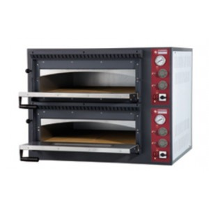 Diamond elektrische pizza oven, 4+4x Ø 330mm pizza