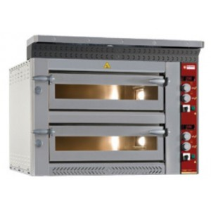 Diamond elektrische pizza oven, 4+4x Ø 350 mm pizza