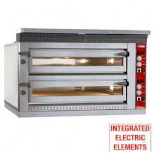 Diamond elektrische pizza oven, 6+6x  Ø 350 mm pizza