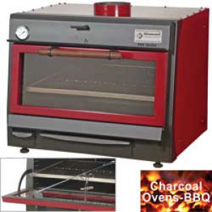 Diamond charcoal houtskooloven-BBQ, 75 kg/u