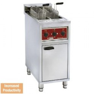 Diamond speed fryers electrische friteuse 2x 10 lit.