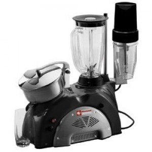 Diamond black line combi, fruitpers en mixer 1,5 liter