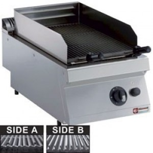 Diamond medium 1700 gas lavasteengrill, rooster in gietijzer