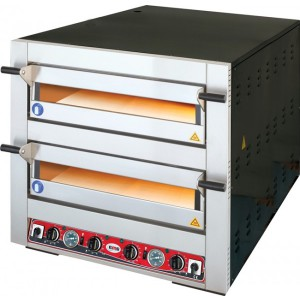 GMG elektrische pizza oven, 4+4  Ø 300 mm pizza