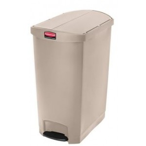 Rubbermaid pedaalemmer beige 90ltr