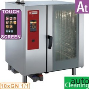 "Diamond at series elektrische oven .""TOUCH"" met boiler, stoom en convectie 10xGN1/1+ Cleaning"