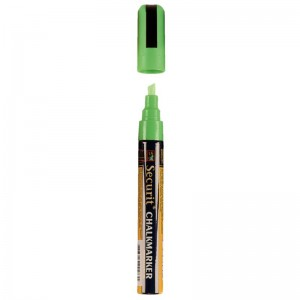 Securit wisbare stift, groen, 6mm