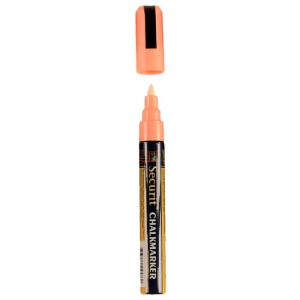 Securit wisbare stift, oranje, 6mm
