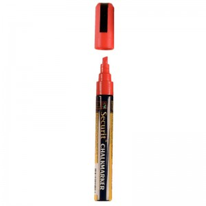 Securit wisbare stift, rood, 6mm